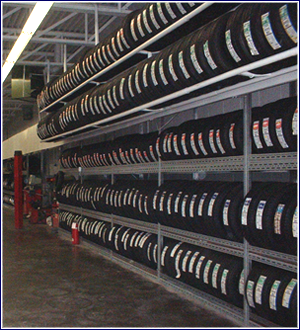 Seasonal Tire Storage at Dufferin Motors & Tires